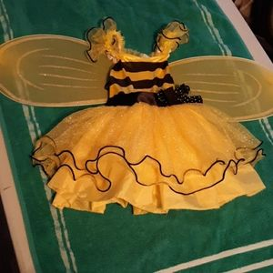 Busy bee costume 3/4t